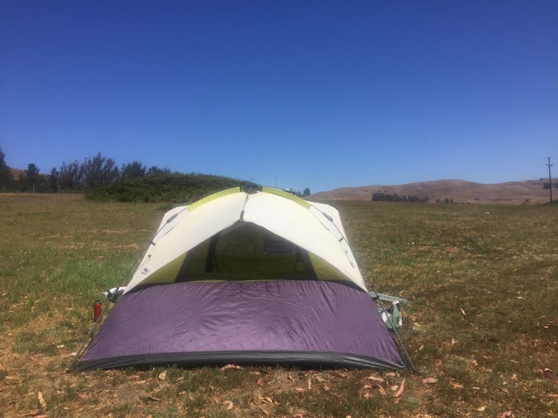 Who needs to go away to camp? Check out our bedroom under the stars. #campingathome